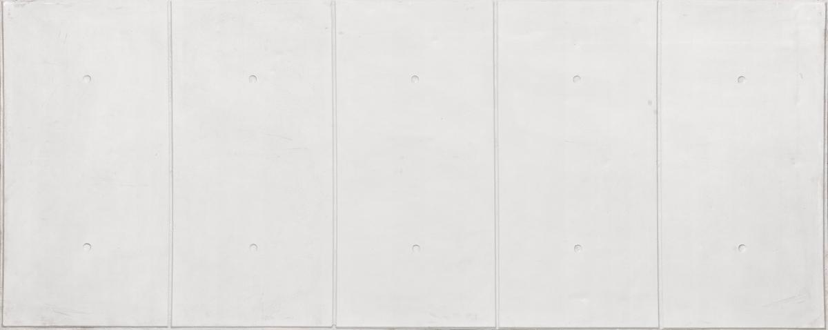 Paneles de hormig n old stones espacios for Hormigon pulido blanco