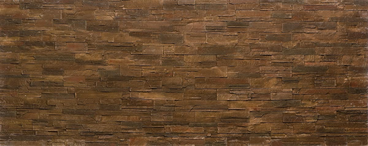 panel de piedra oldstones lascas marron