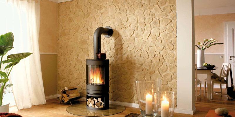 paneles de piedra old stones espacios. Black Bedroom Furniture Sets. Home Design Ideas