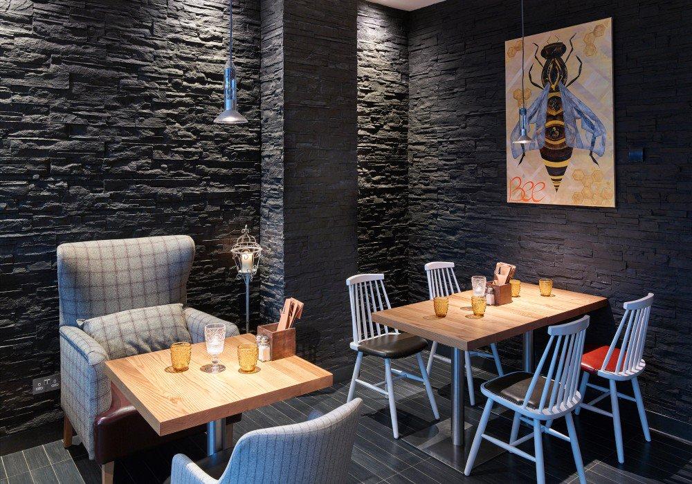 Galer a de paneles decorativos old stones espacios - Paneles de madera decorativos ...