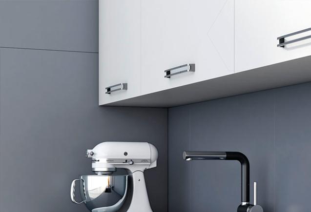 Actualiza tu cocina o ba o sin obras old stones espacios - Paneles decorativos bano ...